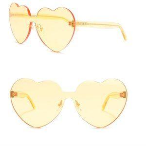 DIFF Eyewear - Rio 64mm Sunglasses Yellow NWT